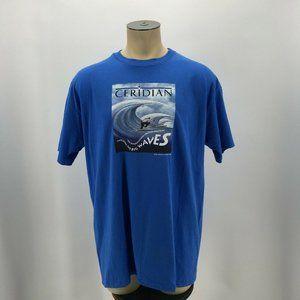 VTG Anvil Pre-Shrunk Ceridian Waves Tee Shirt Sing